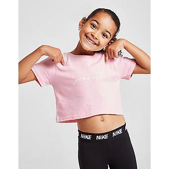 New Sonneti Girls' Mini Essential Crop T-Shirt from JD Outlet Pink