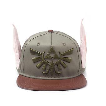 Legend of Zelda besticktes Königswappen mit Neuheit Ohren Snapback Baseball cap