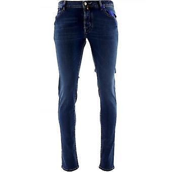 Jacob Cohen Azul Nick Slim Fit Jean
