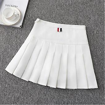 Piger Tennis Nederdel-Høj talje Uniform med indvendige shorts