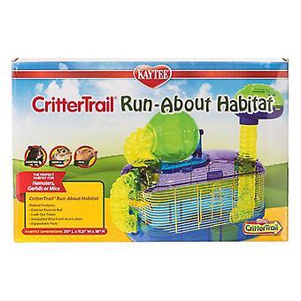 """Kaytee CritterTrail Run-About Habitat - 20""""L x 11.5""""W x 18""""H"""