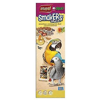 A&E Cage Company Smakers Parrot XXL Nut Treat Sticks - 2 count