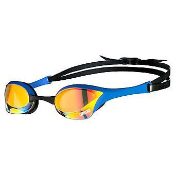 Arena Cobra Swipe Ultra Speil Svømming Briller Avansert Anti Tåke Lense - Blå