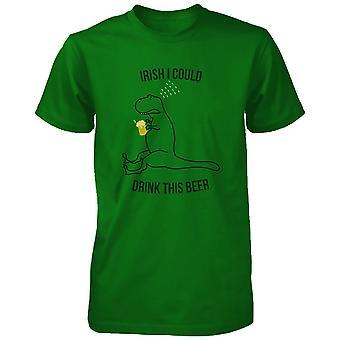 الأيرلندية ويمكن شرب هذا الجعة ش القمصان الخضراء سيدات مضحك باتريك يوم المحملة