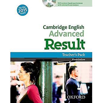 Cambridge Engelska: Avancerat resultat: Lärarpaket