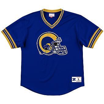 Mitchell & Ness Unbeaten Mesh Jersey - NFL Los Angeles Rams