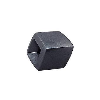 Scarf Bead Slanted Black Metallic Shimmer 44432 44432 44432