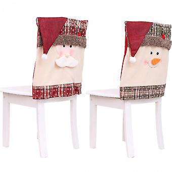Ei, ei, ei. Joulu koristelu tuoli kansi ravintola hotelli neliö jakkara sisustus