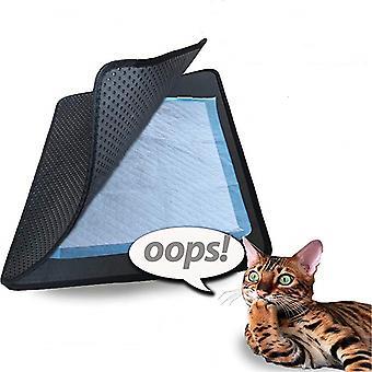 2 Schichten Katze Wurf Matte Pad Schaum Trapper Pet Matte