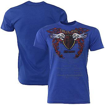 "Forza Sports ""Immortal Crest"" MMA T-Shirt - Royal Blue"