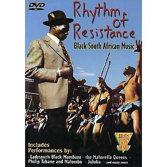 Rytmen av motstånd-svart Sou [DVD] USA import
