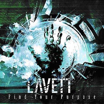 Lavett - Find Your Purpose [CD] USA import