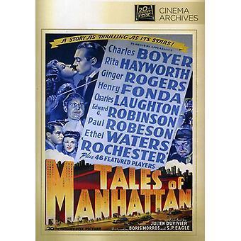 Berättelser om Manhattan [DVD] USA import