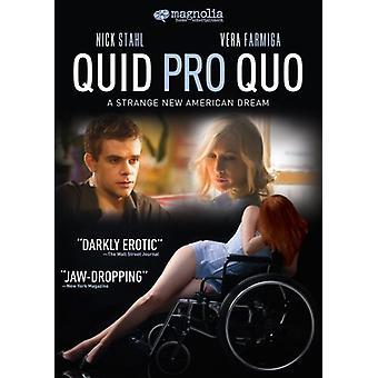 Importação de EUA quid Pro Quo [DVD]