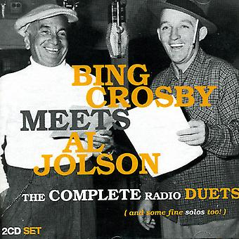 Crosby/Jolson - Bing Crosby Meets Al Jolson [CD] USA import