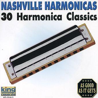 Nashville munnspill - 30 munnspill klassikere [DVD] USA import