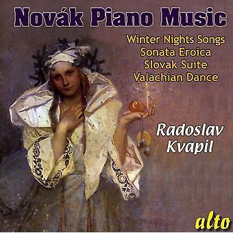 V. Novak - V Tezslav Nov K: importation de musique Piano [CD] USA