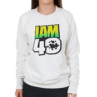 Jeg er 40 Ben 10 kvinner Sweatshirt
