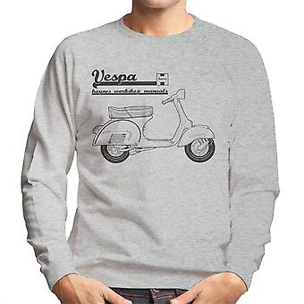 Haynes Owners Workshop Manual Vespa Men's Sweatshirt