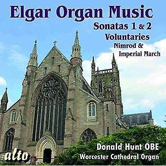 Donald Hunt - Elgar: Complete Organ Music [CD] USA import
