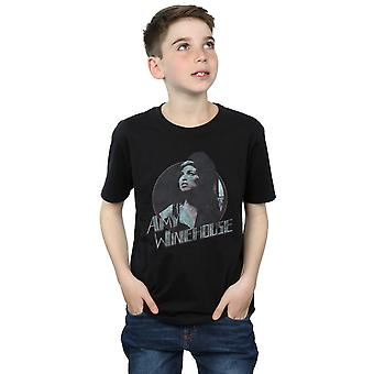 Amy Winehouse ragazzi Distressed Circle t-shirt