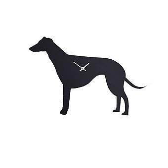 De Labrador bedrijf Waggy staart klok - Greyhound