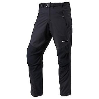 Terra montagnarde longue jambe de pantalon - noir/noir