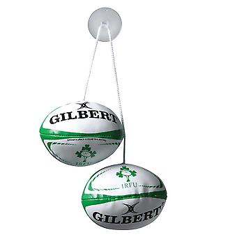 GILBERT ireland rugby dangle set