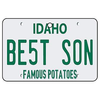 Idaho - mejor hijo matrícula ambientador