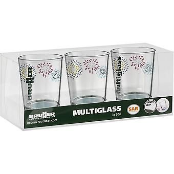 Set di Brunner Belfiore 3 pezzi vetro bevente