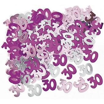 Unique Party Pink Confetti - 30