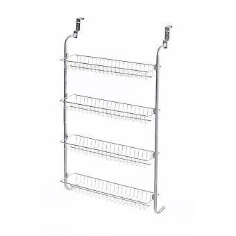 4 warstwy nad drzwiami szafy wiszące / półki do spiżarni lub przechowywania szafy