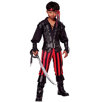 Briny Buccaneer Jack Sparrow Pirate Carribbean Captain Book Week Boys Costume