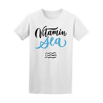 Vitamin havet tilbud Ocean Tee mænds-billede af Shutterstock