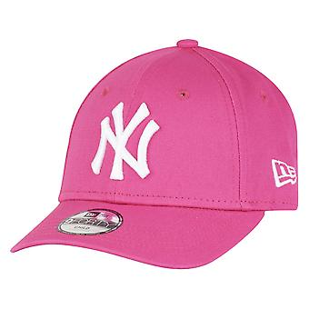 New Era 9Forty Stretched Mädchen Kinder Cap NY Yankees pink