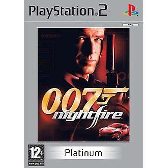 James Bond 007 Nightfire Platinum-fabriek verzegeld