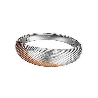 Joop kvinders armbånd stål sølv rose bølger JPBA10084A600