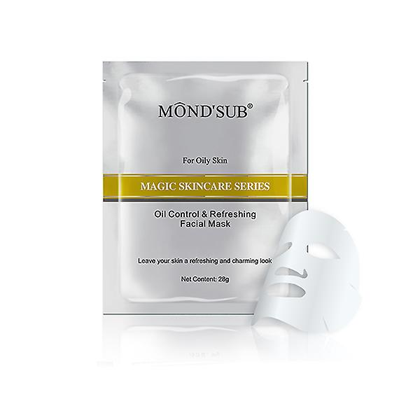 Oil controlling and refreshing facial mask