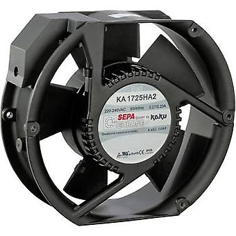 SEPA KA1725HA2BMT/Mg Axial fan 230 V AC 340 m³/h (L x b x H) 173 x 150 x 51 mm