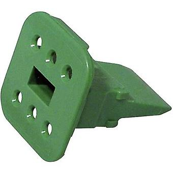 TE Connectivity W 6 S-P012 Bullet connector wedge Series (connectors): DT Total number of pins: 6 1 pc(s)