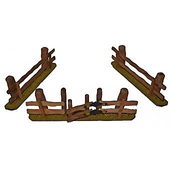 Nativity accessories stable Nativity set 3 PCs. FENCES for Nativity