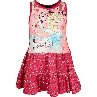 Piger ER1156 Disney frosne ærmeløs kjole størrelse 4-8 år