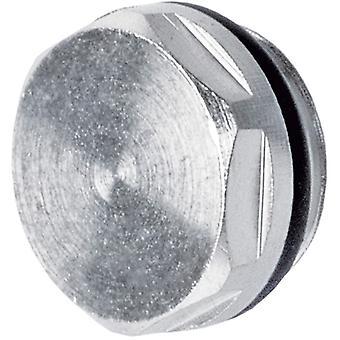 """1/2"""" Inch BSP Radiator Blanking Bleed Plug Heater Ending Cap Nickel Plated Brass"""