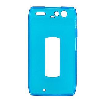 Verizon silikoni tapauksessa Motorola DROID RAZR XT912 (sininen)