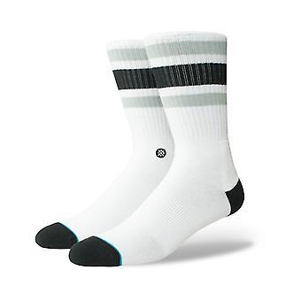 Stance Boyd 4 crew sokken in wit