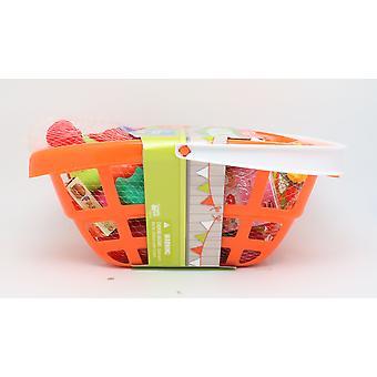 Happyland Basket With Food 40 Piece Set