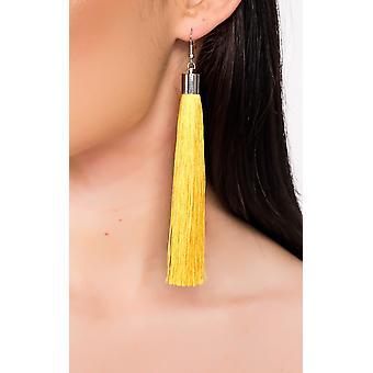 IKRUSH Womens Rita Tassel Earrings