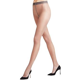 Falke Seidenglatt 15 Den Transparent brillant collants - gris platine