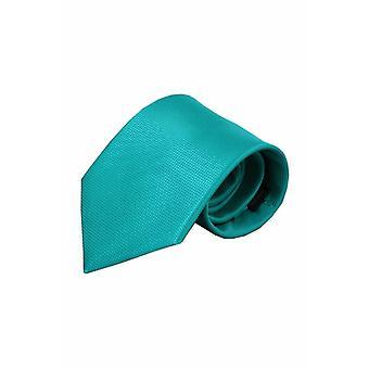Groene zijden stropdas Agrigento