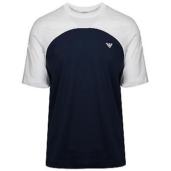 T-shirt Emporio Armani White et Navy